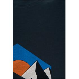 Peak Performance M's Explore Logo Print Tee Blue Steel